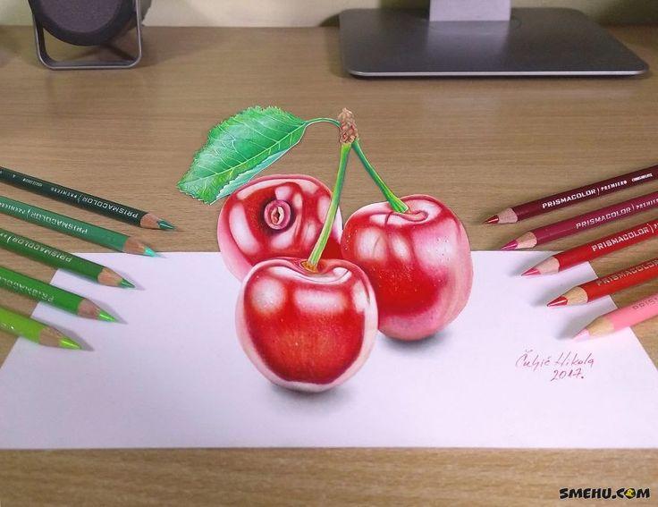 3D рисунки от художникаNikola Čuljić | 42 фото 3д рисунков — Smehu.com