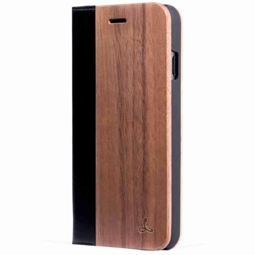 Walnut Wood Wallet Case - iPhone 7