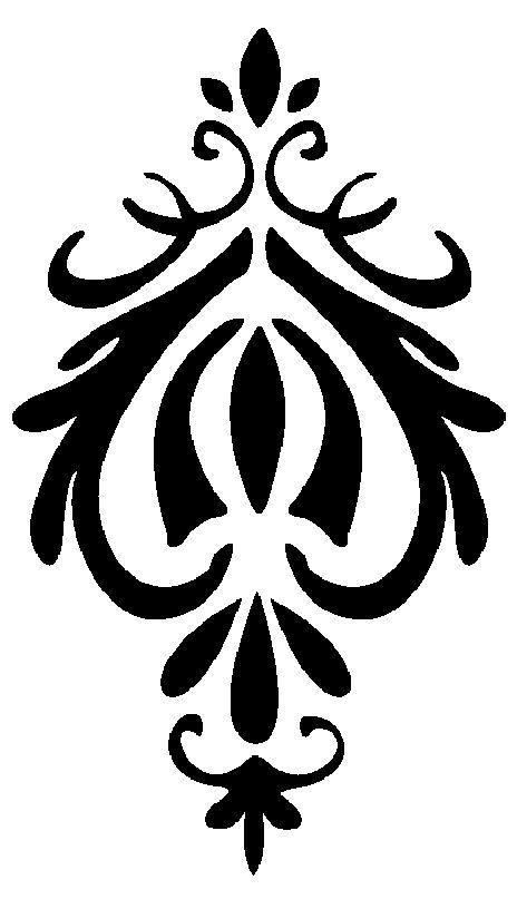 Vinilo pared Ornament