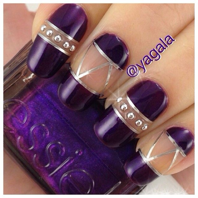 Best 25 purple nail designs ideas on pinterest fun nails fun who doesnt love purple it calls out to fun and fab girls prinsesfo Gallery