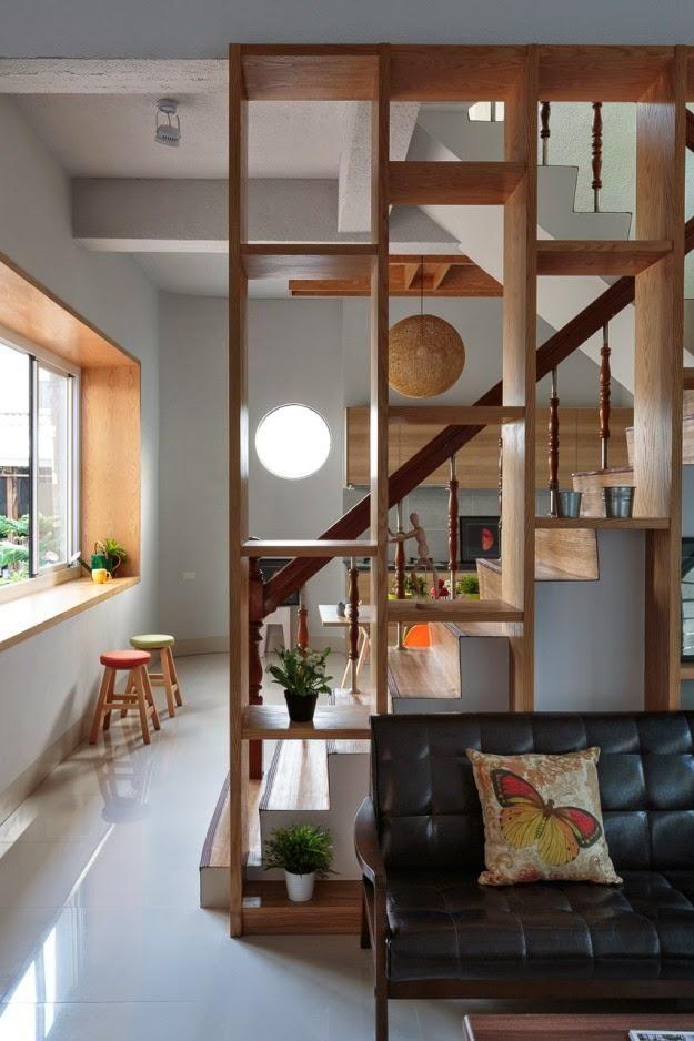 Restauration d'une maison avec un style moderne et minimaliste 11