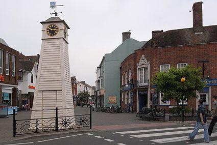 Littlehampton Town Clock, Photos of Littlehampton, West Sussex, England, UK