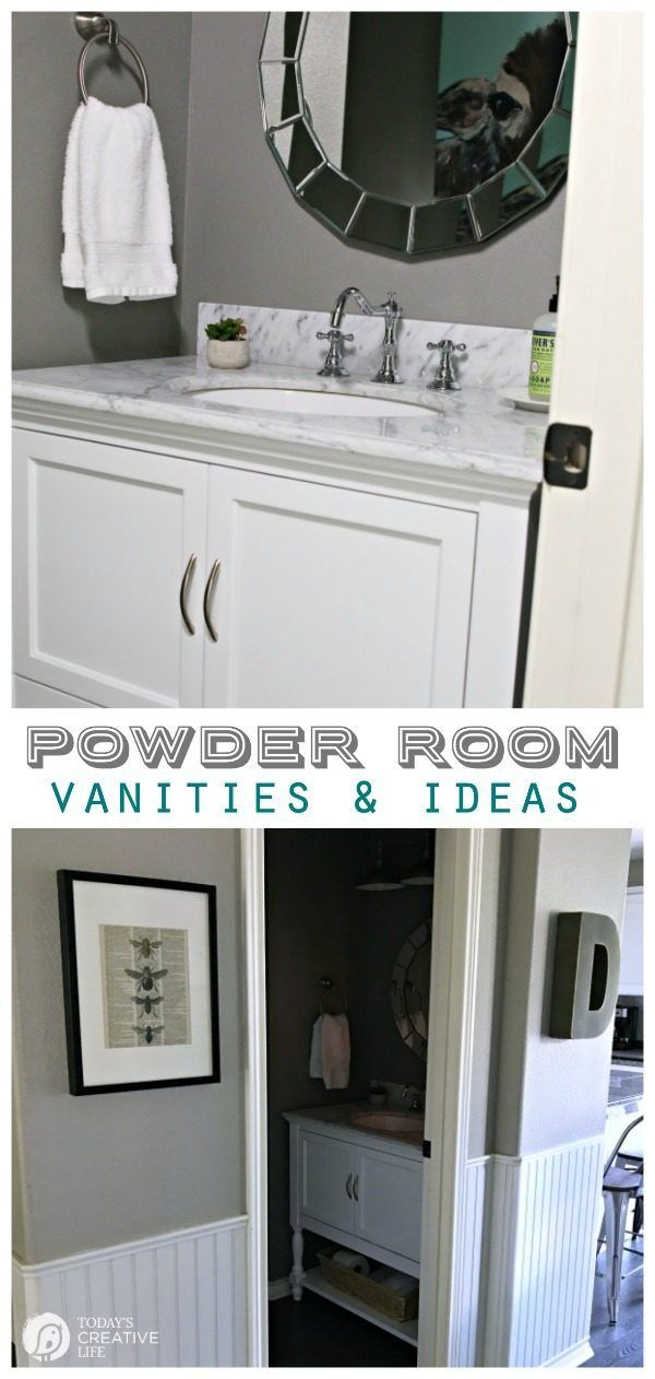 Powder Room Vanities Ideas