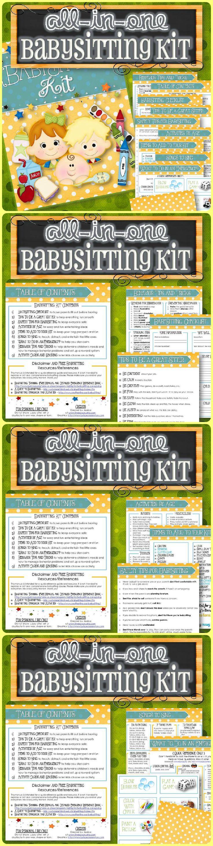 31 best babysitting images on pinterest baby sitting babysitters