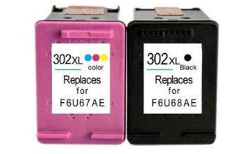 Cartuchos compatibles para tu impresora Hp compatiblidad al 100% con los cartuchos hp 302xl original baratos.