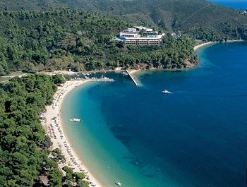 Skiathos - Banana Beach, our first holiday together