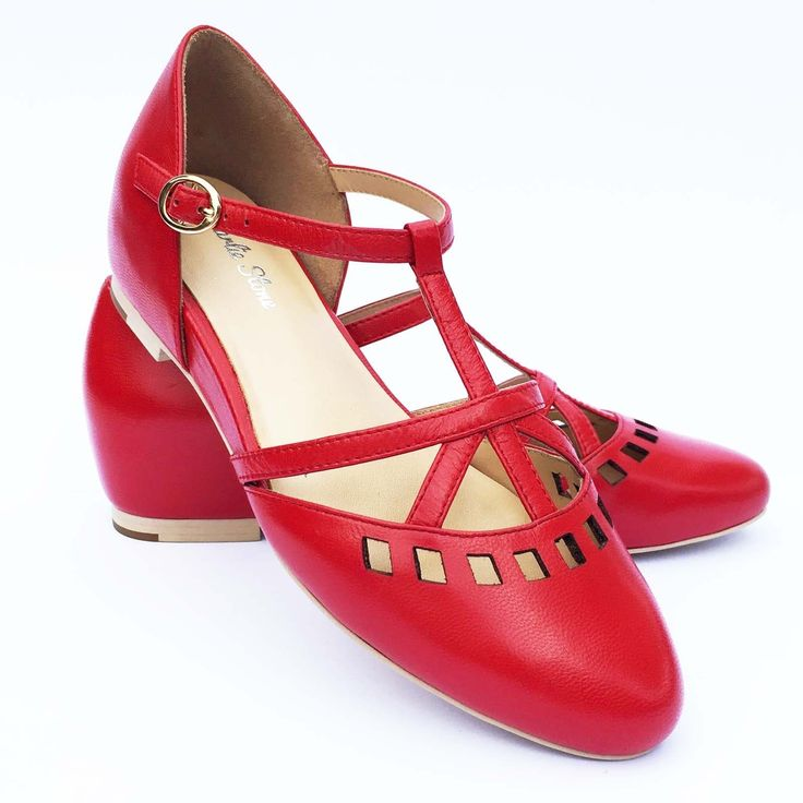 Charlie Stone Valentina Shoes - Red