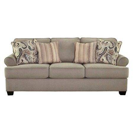 Melaya Queen Sofa Sleeper Pebble - Signature Design by Ashley : Target