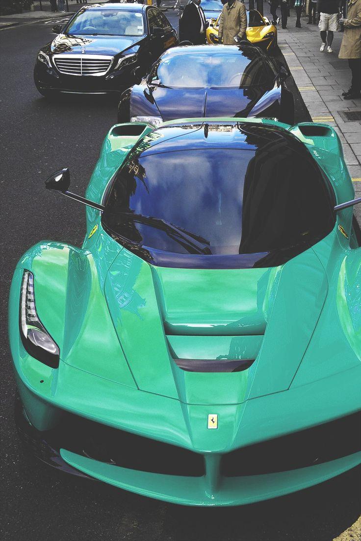Envyavenue: LaFerrari, Veyron, S Class.