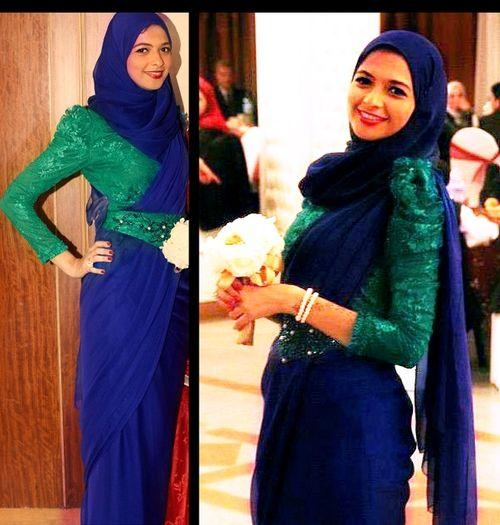Classy and Glamorous Hijab Dresses