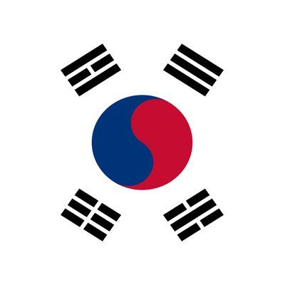Toland Home Garden South Korea 2-Sided Garden Flag