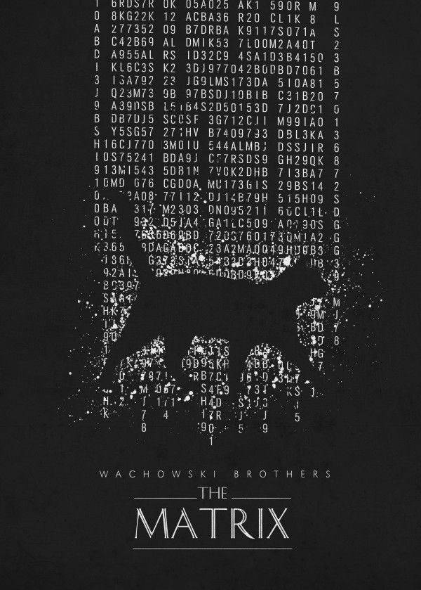 matrix wachowski brothers the classic movies posters minimalistic film