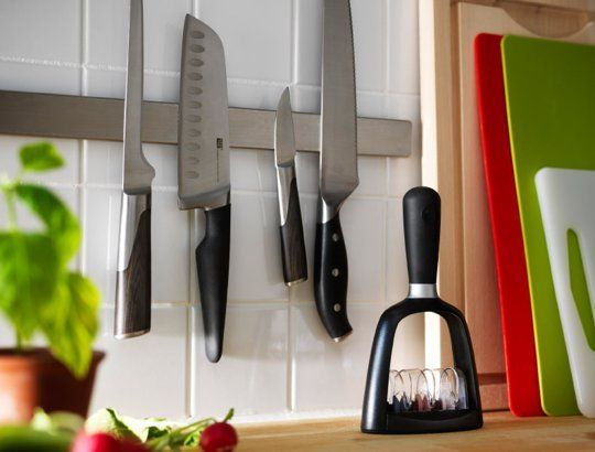 The 10 Best Kitchen Items To Buy at IKEA | Magnetic knife rail