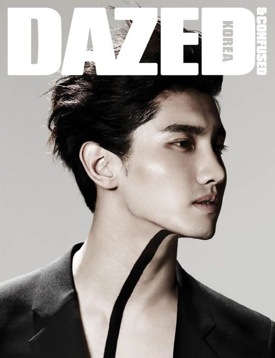 'Dazed & Confused' / TVXQ's ChangminConfused Magazines, Korean Fashion, Korean Style, Emporio Armani, Fashion Magazines, Tvxq Changmin, Asian Waves, Magazines Covers, Korean Waves