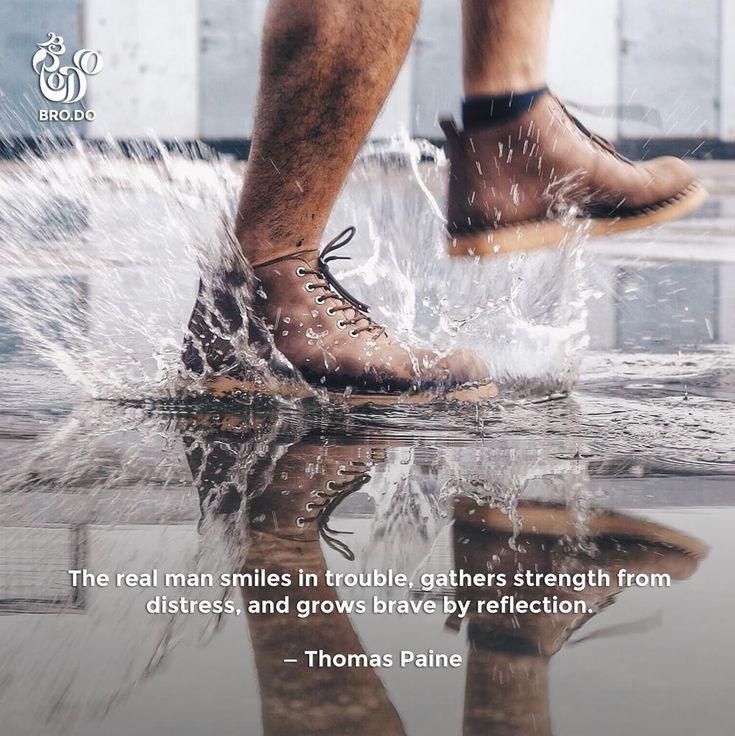 Puasa doang sih gak bikin gentleman lesu, bro! Semua masalah bisa jadi tantangan baru. #TosJantan #QuotesOmBro  Shoes: Signore Boots Dark Choco Gum Sole