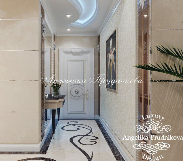 Дизайн проект интерьера квартиры в ЖК Опера Хаус - фото