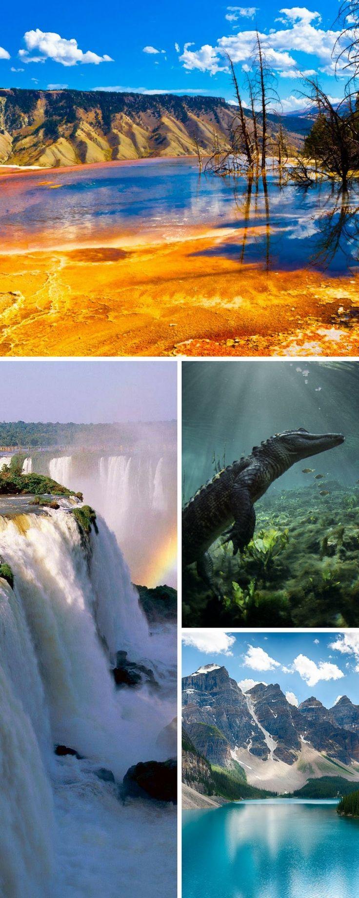 Les 18 parcs nationaux les plus beaux du monde