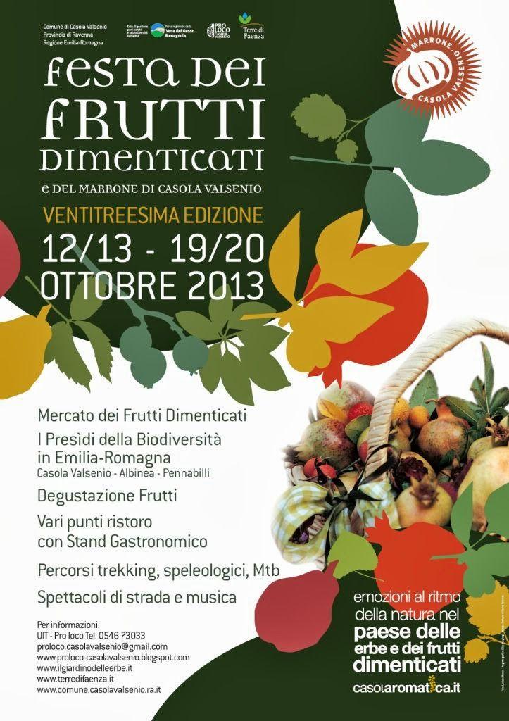Casola Valsenio - Festa dei frutti dimenticati
