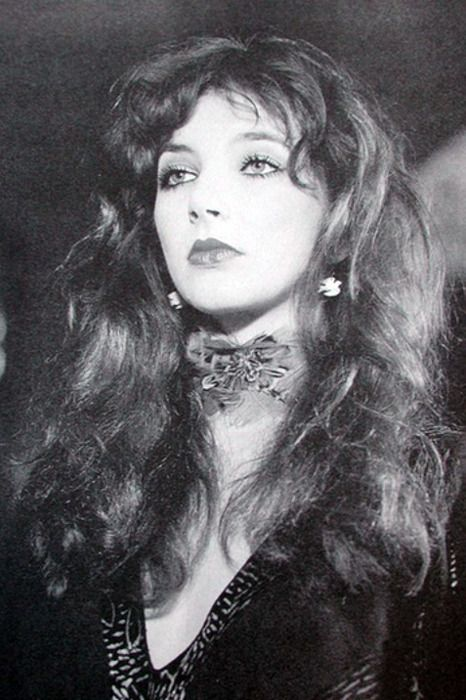 Kate Bush . . . gorgeous woman and wonderfully talented songstress.