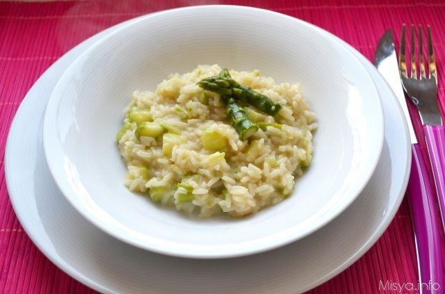 » Risotto agli asparagi Ricette di Misya - Ricetta Risotto agli asparagi di Misya