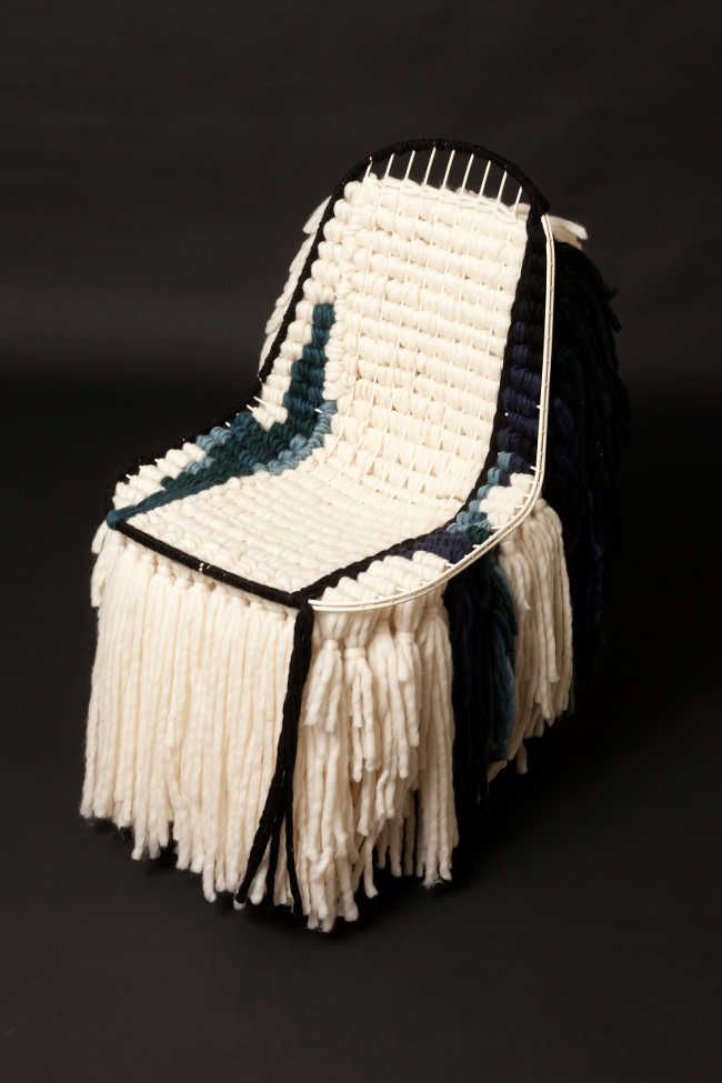 For more inspiration follow on IG: THEGYPSETTER Rasta Lola chair by India Mahdavi A © Hugo Miserey