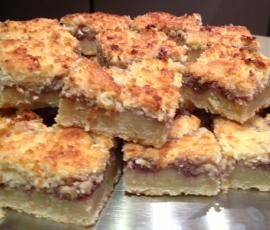 Recipe Old fashioned favourite - Jam and coconut slice by Louise Richards - Recipe of category Baking - sweet