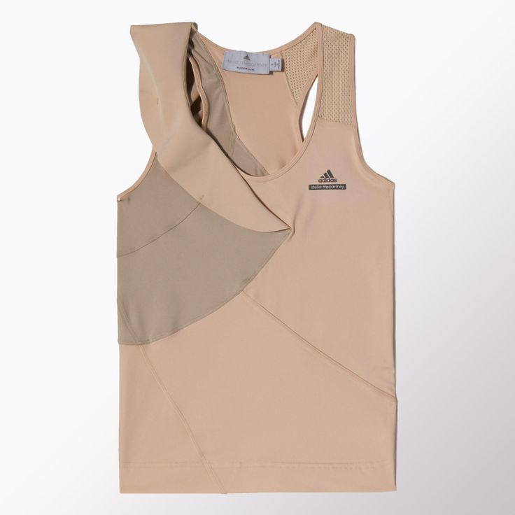 Tanktop with nice details, by Stella McCartney for Adidas.