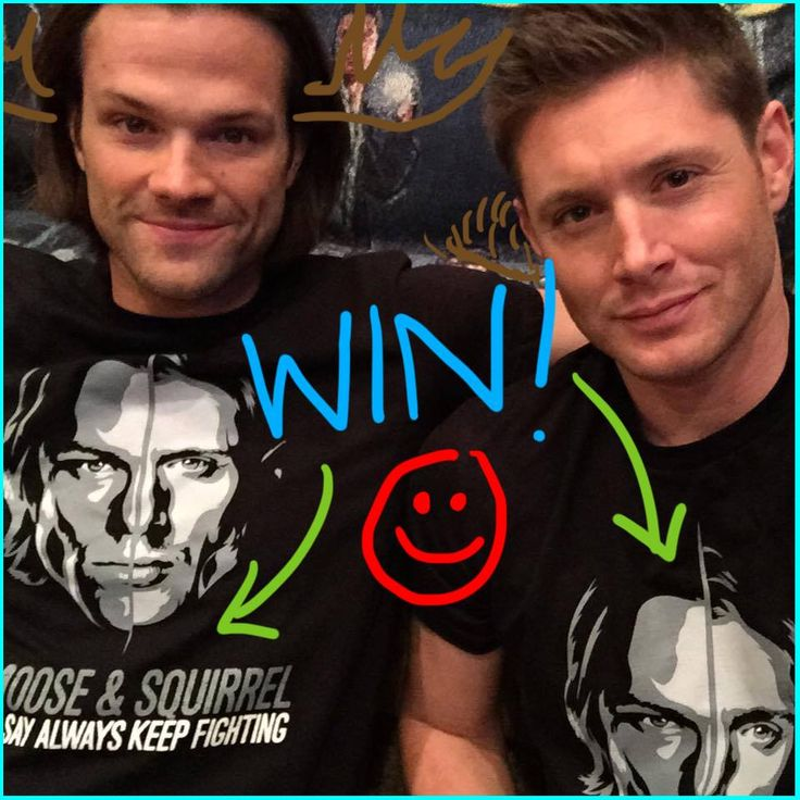 It's our last day of filming season 10! To celebrate, here's >>CONTEST #2<< for represent.com/jaredjensen !  ***2 lucky buyers in 24 hours' time will WIN mine and Jensen's shirts SIGNED by both of us. You'll also receive a handwritten thank you note from us!***  Good luck and #AlwaysKeepFighting !