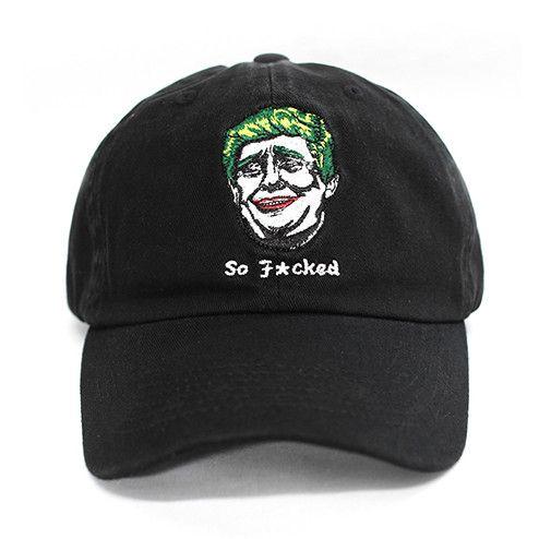 Donald Trump Joker Dad Hat - Low Stock