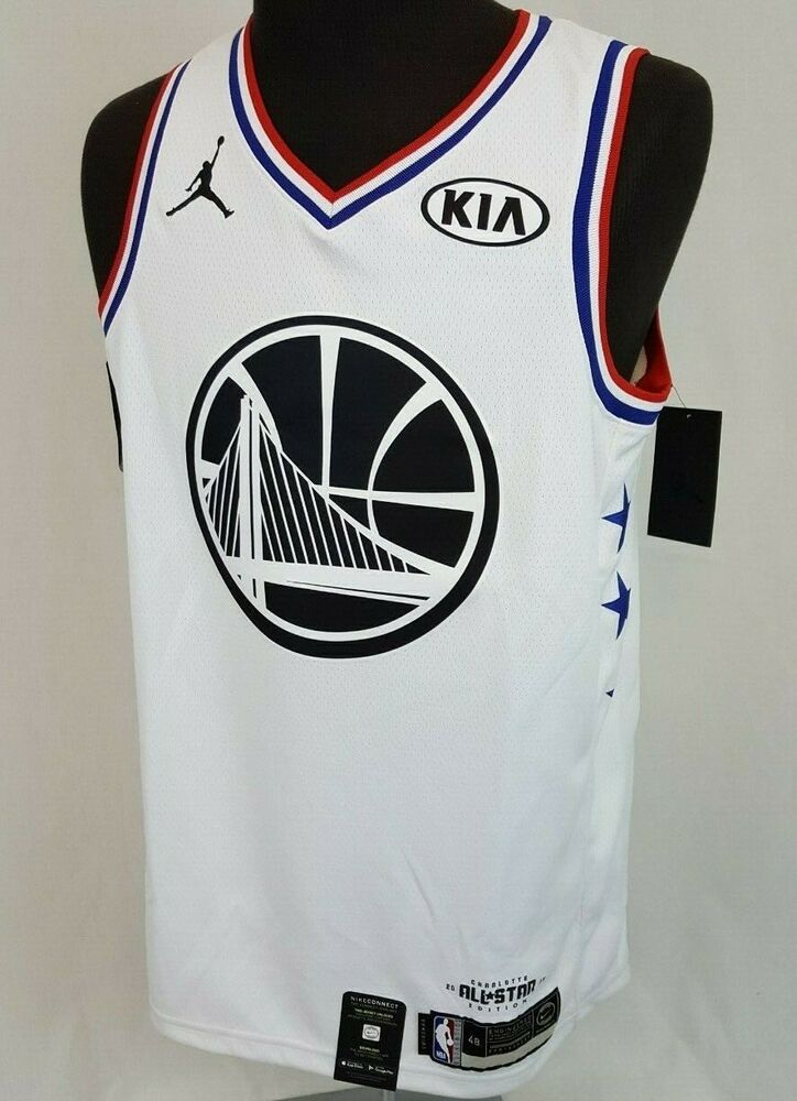 finest selection ab0a2 3091f Kevin Durant #35 Jordan NBA Authentic ALL STAR GSW Warriors ...