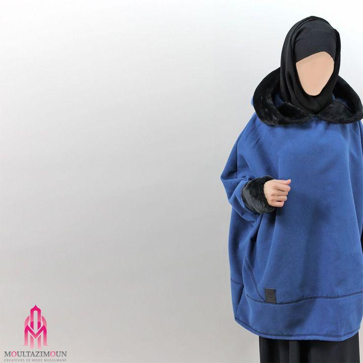 Cape fourrure - Al Moultazimoun #Overhead #cape #khimar #jilbab #jilbab #best #abaya #modestfashion #modestwear #muslimwear #jilbabi #outfit #hijabi #hijabista #long #dress #mode #musulmane #clothing