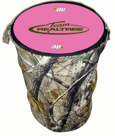 Realtree hamper. So much cooler than the plain black one I have now.