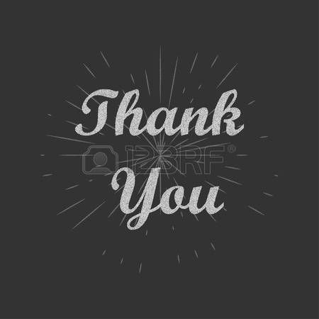 Thank you text background. Thank you card. Vector illustration. photo