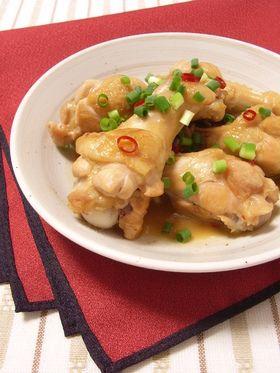 中華風~鶏手羽元の酢っぱ甘辛煮☆