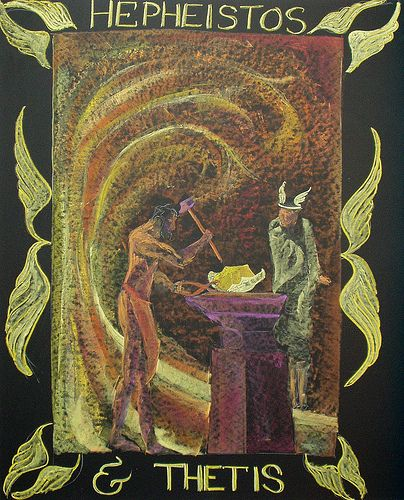 hephaestus mythology paper The research involved in preparing this paper was supported by the israel  the  myth of hephaestus were known to the composer of the iliad, the decision to.
