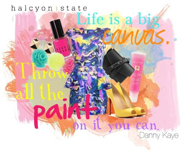 """""""Paint"""" by halcyonstatedotcom on Polyvore"""