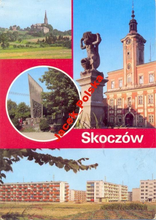 SKOCZÓW - OSIEDLE + RATUSZ -