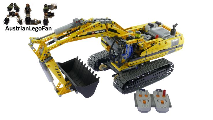 Lego Technic 8043 Motorisierter Raupenbagger - Lego Speed Build Review