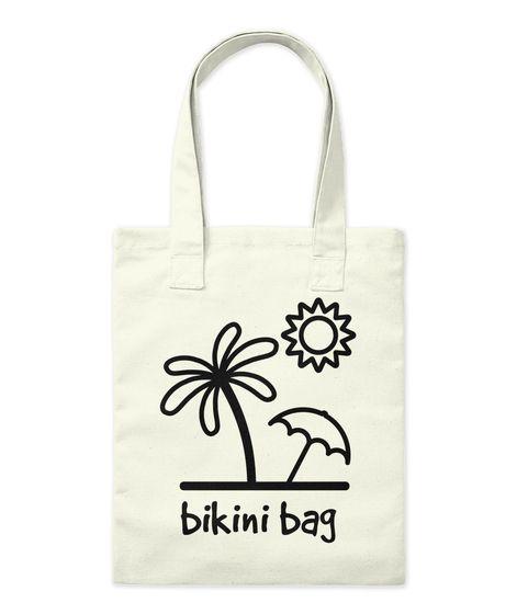 Bikini Bag Tote Bag ▪ #bikinibag #beach #beachday #totebag #tote #bag #beachoutfit #beachfun #beachstyle