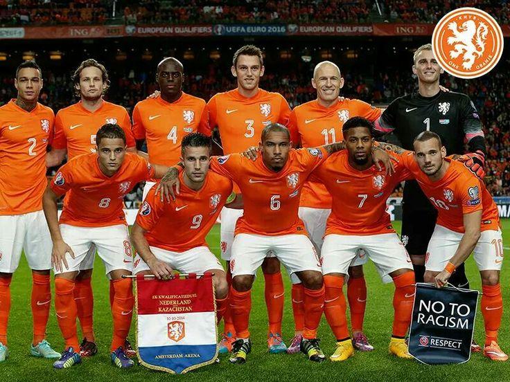 Nederlands elftal....