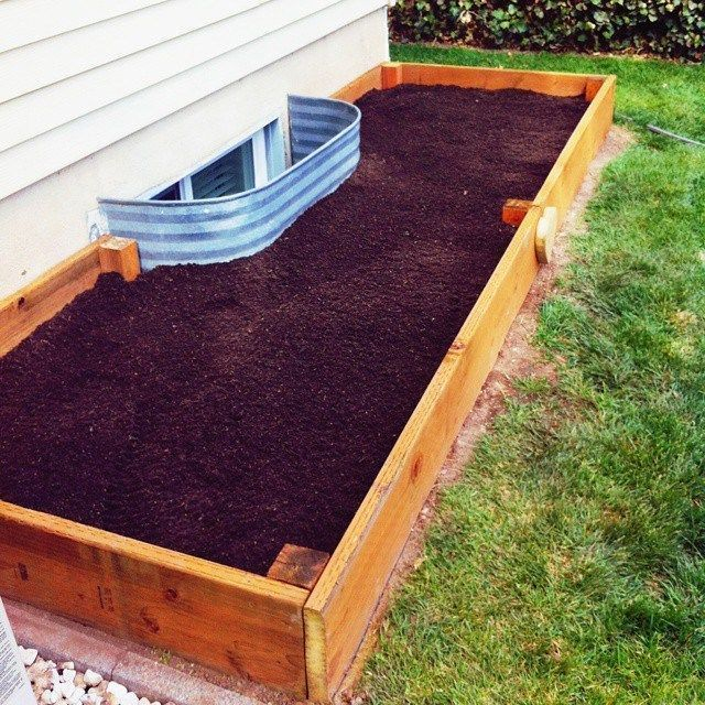 Good Photographs Raised Garden Beds Against House Thoughts