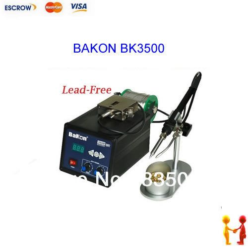BAKON BK3500 Auto feeding 120W Lead-Free soldering station eddy current heating welding machine