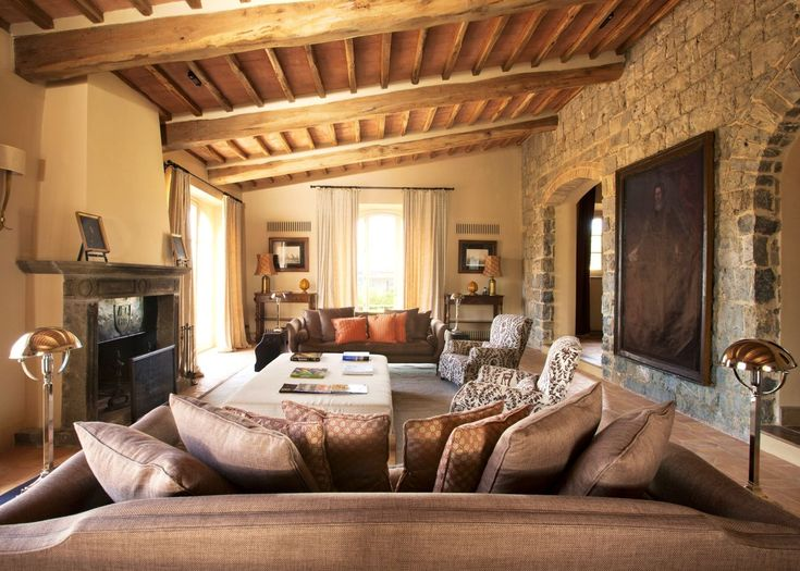Breathtaking 52 Stunning Tuscan Living Room Furniture Ideas http://toparchitecture.net/2017/11/24/52-stunning-tuscan-living-room-furniture-ideas/