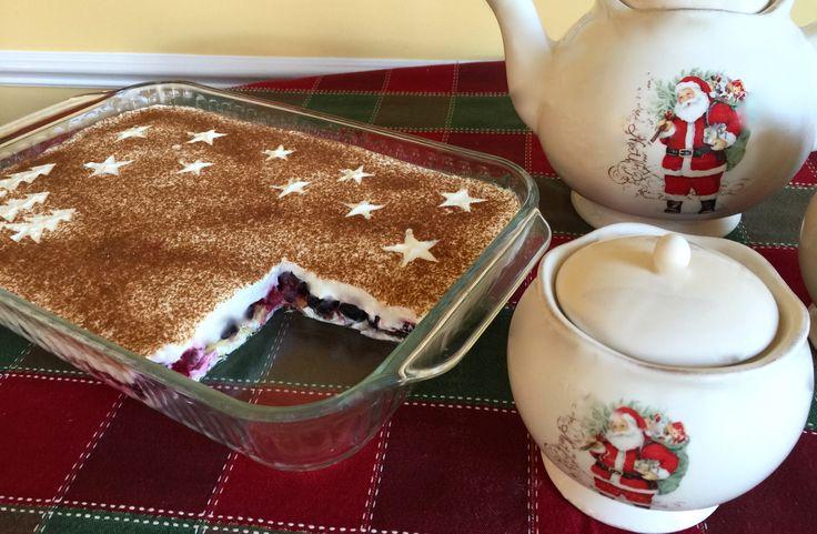 Advent Tiramisu Recipe http://www.theomaway.com/desserts/advent-tiramisu-recipe-dessert/