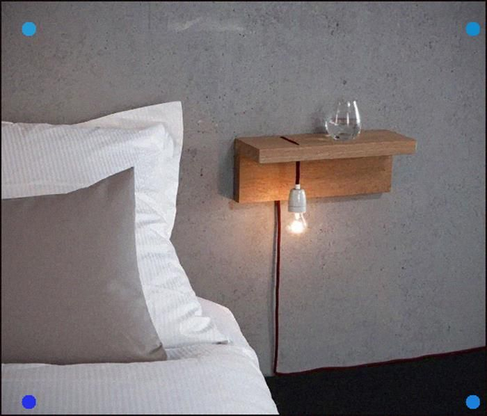 10 DIY bedside tables perfect for small bedrooms CLICK VISIT