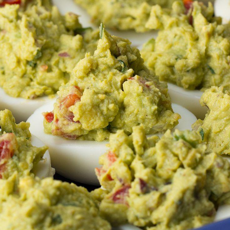 Guacamole Deviled Eggs Recipe by Tasty