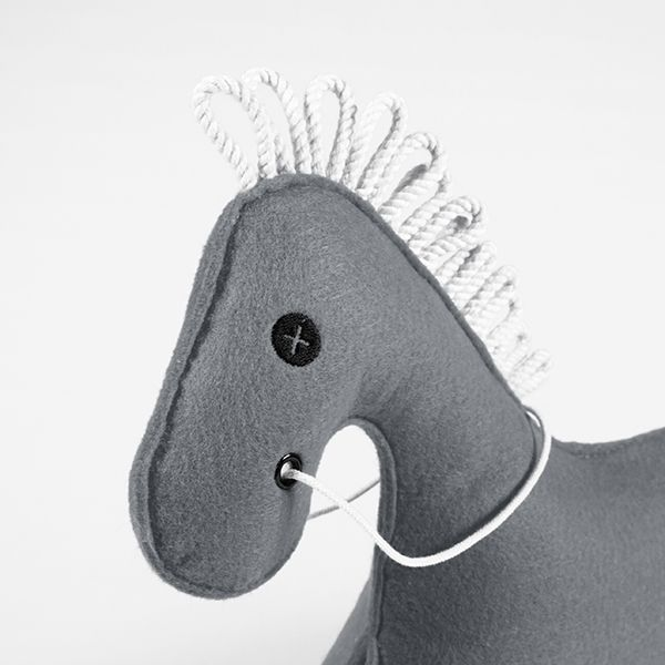 toy horse - KONNIK - steel 4
