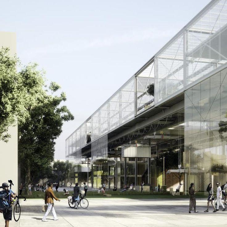 Galeria de Anunciados os 3 vencedores do concurso para a nova Escola de Arquitetura de Aarhus - 3