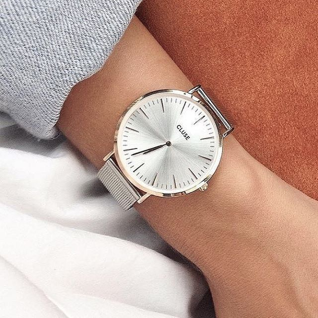 Rose gold + silver = a match made in heaven ✨ #CLUSE