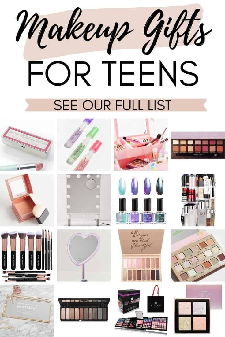 27 Best Makeup Gifts For Teens 2020 In 2020 Gifts For Teens Makeup Gift Christmas Gifts For Girls
